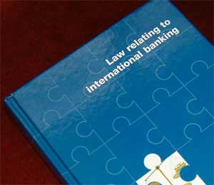 Book by Graham Roberts: the Law Relating to International Banking is a widely used text covering the law of commercial banking transactions.
